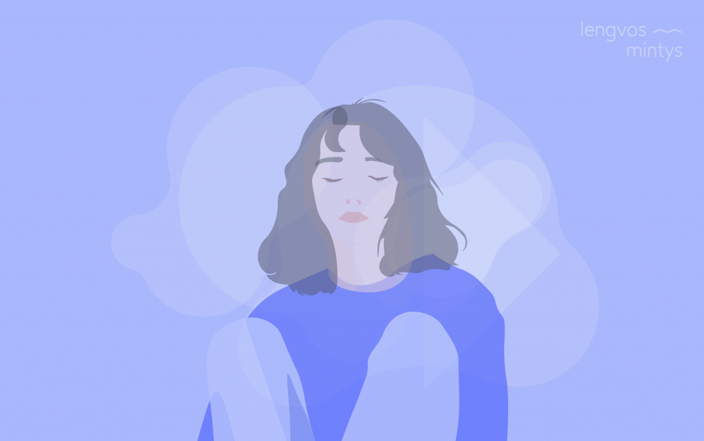 Lengvos mintys depresija